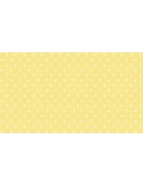 Tissu coton Bijoux Jaune...