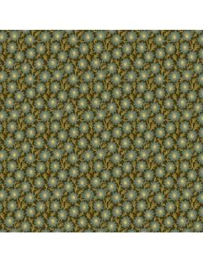 Tissu coton Sequoia Vert à...