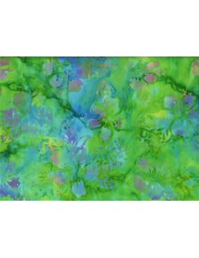 Tissu Batik imprimé Fleurs...