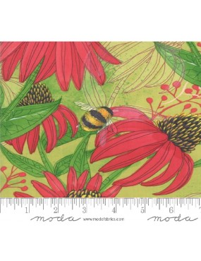 Tissu coton Painted Meadow...
