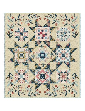 Kit patchwork Super Bloom...