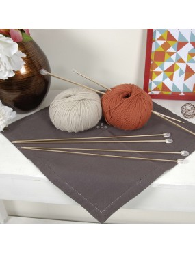 Aiguilles à tricoter...