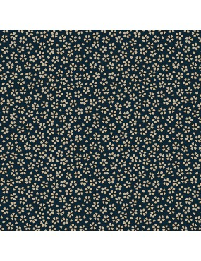 Tissu coton Myosotis