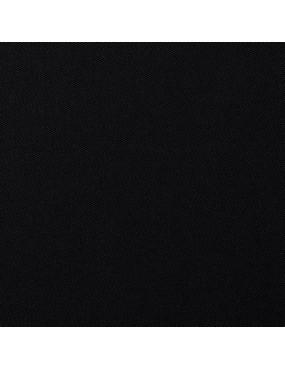 Tissu coton uni Noir