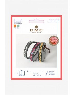 Bracelet à broder DMC fin