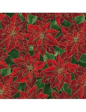 Tissu coton Noël avec...