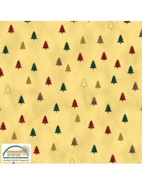 Tissu coton Noël Christmas...