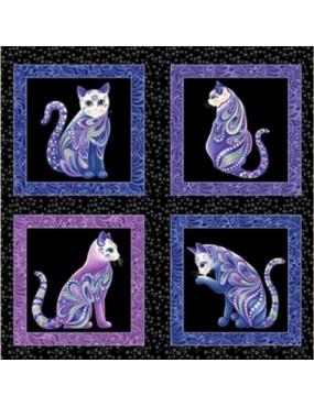 Panneau Chats Cat-i-tude