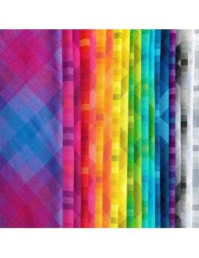 Tissu coton Carreaux Kaleidoscope de Alison Glass