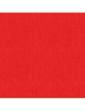 Tissu coton Linen Rouge Flashy