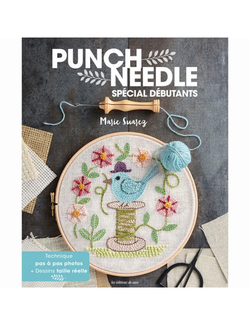 Livre Punch Needle Spécial débutant