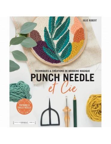 Livre Punch Needle et Cie