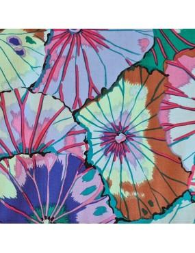 Tissu coton Kaffe Fassett à motifs de Feuilles de Lotus