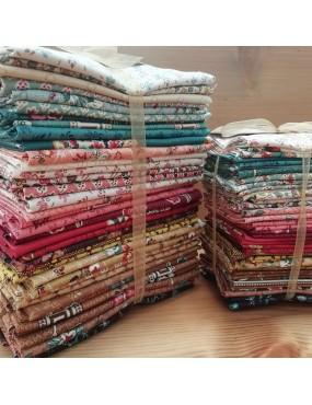 Lot de tissus coton Annes English Scrapbox de Di Ford Hall