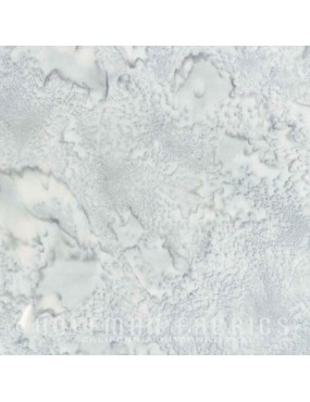 Tissu Batik marbré gris clair