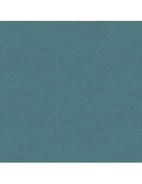 Tissu coton Linen Bleu Minéral