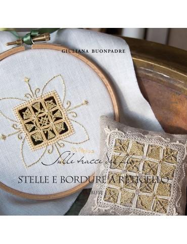 Livre Hardanger Stelle e Bordure a Reticello par Giuliana Buonpadre