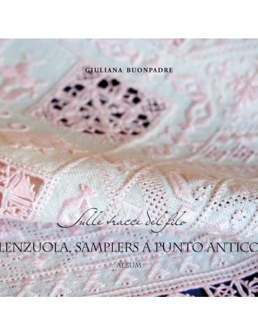Livre Lenzuola, sampler a punto antico par Giuliana Buonpadre