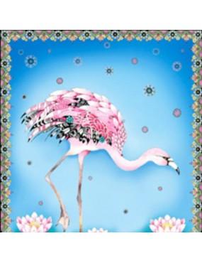 Panneau Fancy Flamingos à motifs de Flamants roses