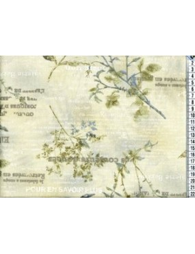 Tissu coton Japonais Ancien...