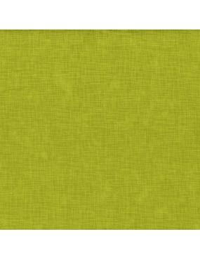 Tissu coton Linen Texture Vert Citron