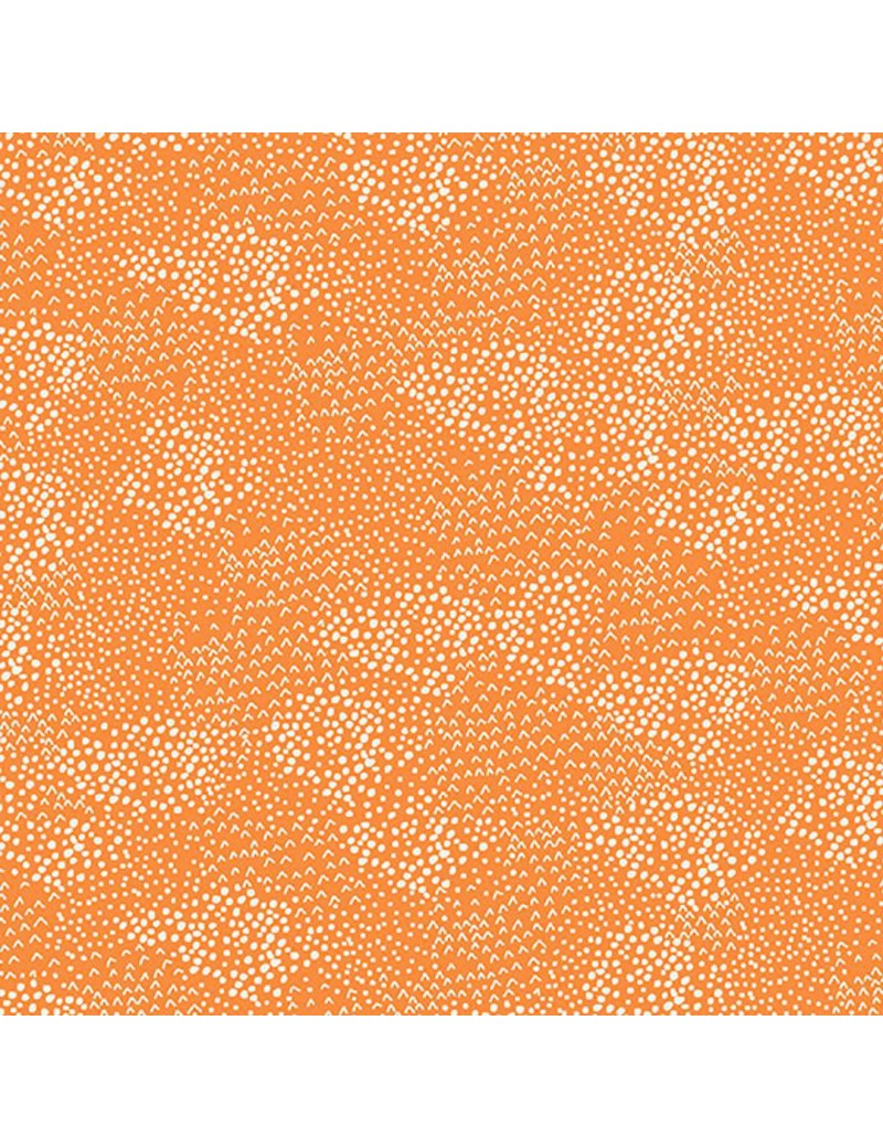 Fat Quarter Forest 2019 Orange et Blanc