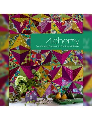 Livre patchwork Alchemy de Pamela Goecke-Dinndorf