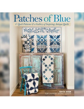 Livre patchwork Patches of Blue par Edyta Sitar