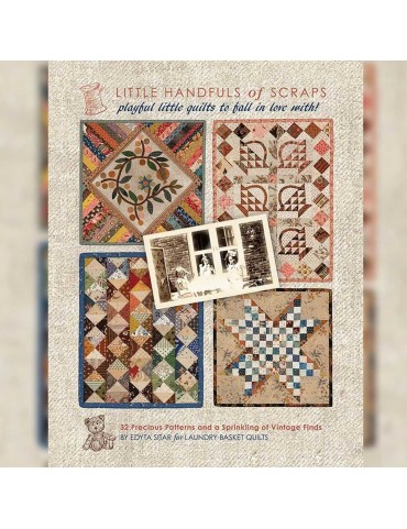 Livre patchwork Little Handfuls of Scraps par Edyta Sitar