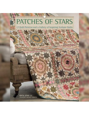 Livre patchwork Patches of Stars par Edyta Sitar