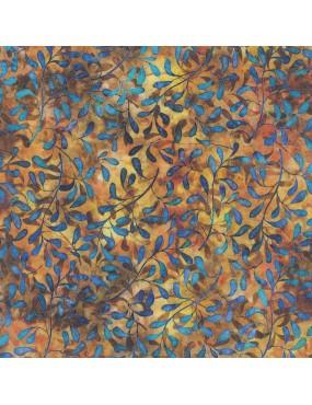 Tissu coton Tropicalie à motifs de Feuille de Vigne