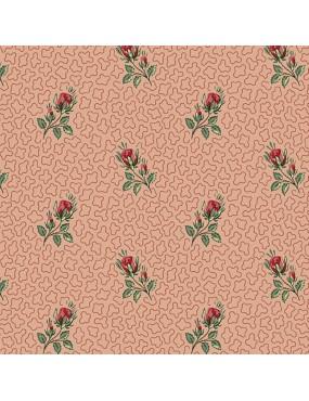 Fat Quarter Annes English Scrapbox à motifs de Roses