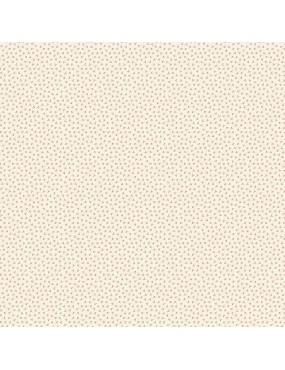 Tissu coton Seamstress à motifs de traits et de points