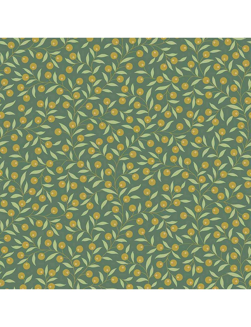 Tissu coton Seamstress à motifs de baies