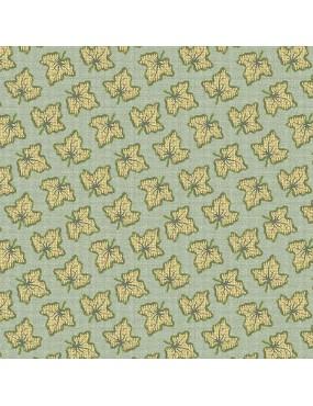 Tissu coton Seamstress à motifs de feuilles de lierre