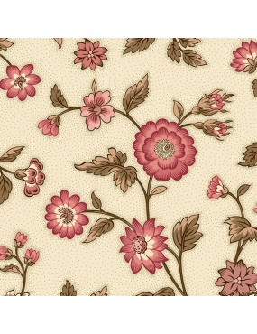Windermere - Di Ford Hall - 8917E Floral Stripe Rose