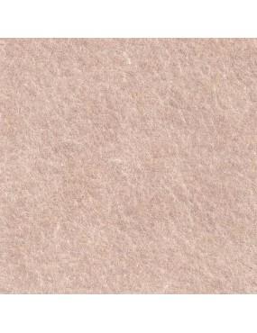 Feutrine de laine Rose Poudré