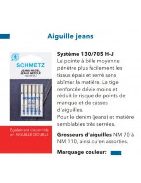Aiguilles Jeans Schmetz...