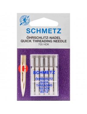Aiguilles enfilage facile Schmetz pour machine à coudre