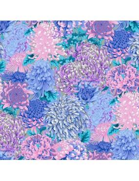 PWPJ107.GREY-Hokusais-Chrysanthemum