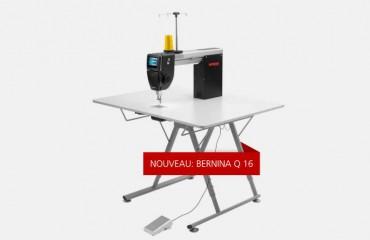 Bernina Q16, la nouvelle machine de quilt